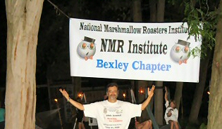 KR at the Bexley Chapter Roast in June